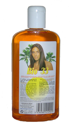 Bio 33 Shampooing Neutralisant Soin Cheveux